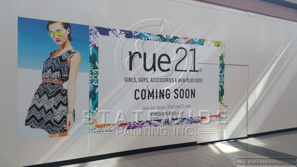 Rue 21 Palmdale Mall Barricade Statewide Painting Inc